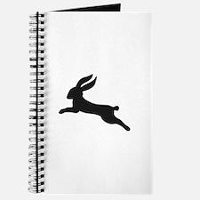 Black bunny rabbit Journal