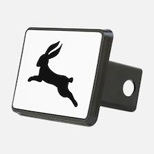 Black bunny rabbit Hitch Cover