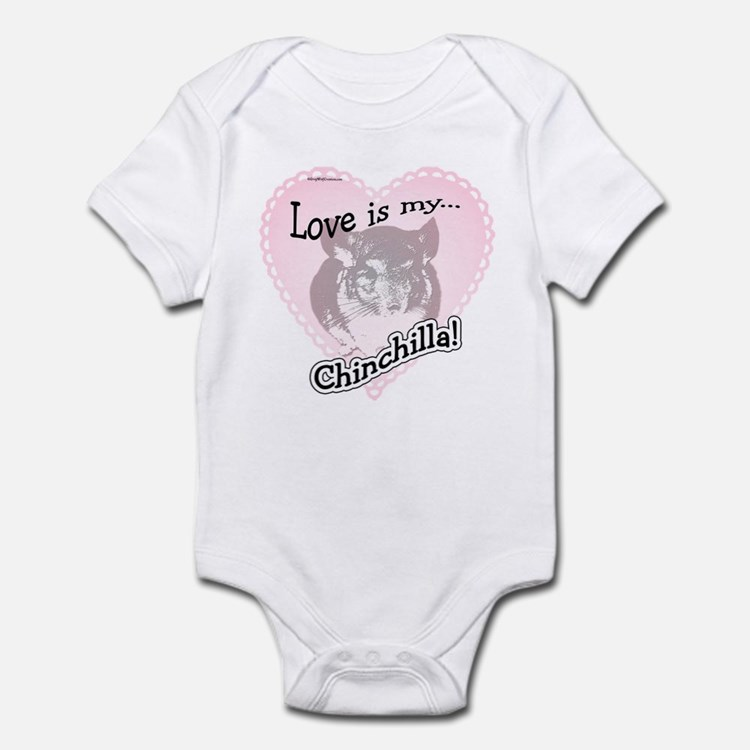 Chin Love Is Infant Bodysuit