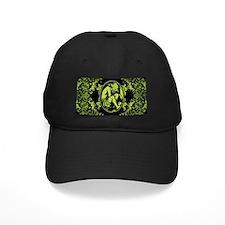 Weeping Cherub Green Baseball Hat