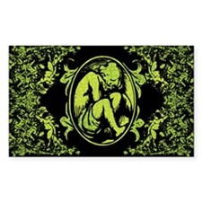 Weeping Cherub Green Decal