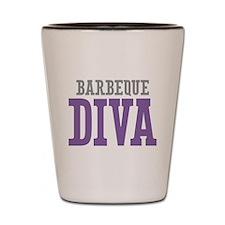Barbeque DIVA Shot Glass