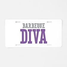 Barbeque DIVA Aluminum License Plate