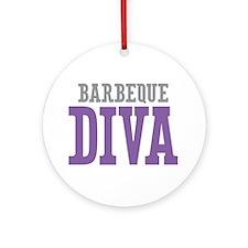 Barbeque DIVA Ornament (Round)