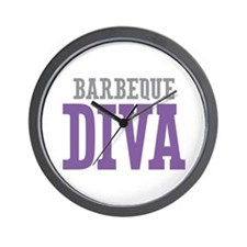 Barbeque DIVA Wall Clock