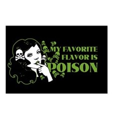My Favorite Flavor Is Poison Postcards (Package of
