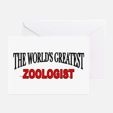 """""""The World's Greatest Zoologist"""" Greeting Cards (P"""
