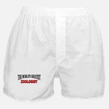 """The World's Greatest Zoologist"" Boxer Shorts"