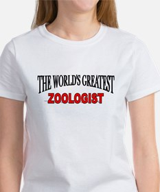 """""""The World's Greatest Zoologist"""" Women's T-Shirt"""