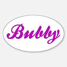 Bubby Vinyl Decal