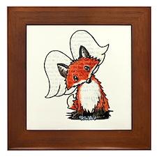 KiniArt Winged Fox Framed Tile