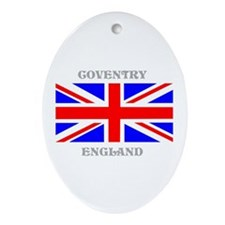 Coventry England Ornament (Oval)