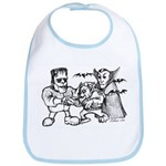 Funny Monsters Bib