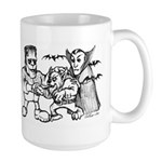Funny Monsters Large Mug
