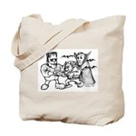 Funny Monsters Tote Bag