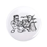 "Funny Monsters 3.5"" Button (100 pack)"