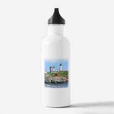 Nubble Lighthouse Water Bottle