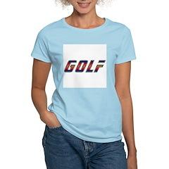Golf Women's Pink T-Shirt