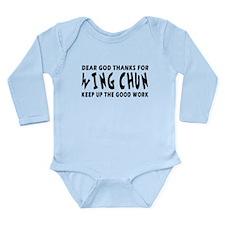 Wing Chun Martial Arts Designs Long Sleeve Infant