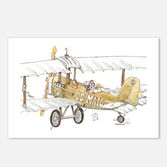 Mail Plane Postcards (Package of 8)