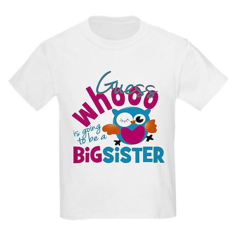 Big Sister - Owl T-Shirt