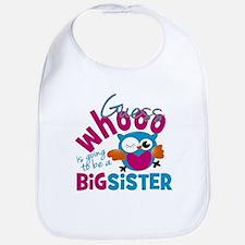 Big Sister - Owl Bib