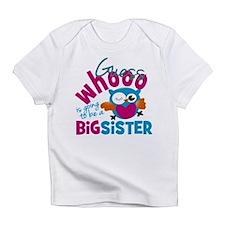 Big Sister - Owl Infant T-Shirt