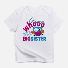 Big Sister - Owl Infant T-Shirt