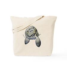 KiniArt Manatee Tote Bag