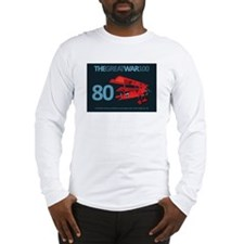 The Red Baron - Infographic Long Sleeve T-Shirt