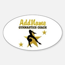 FAVORITE COACH Sticker (Oval)