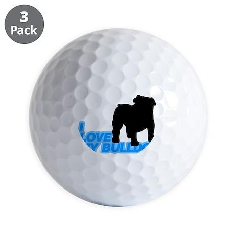 bulldog Golf Ball