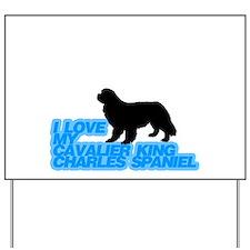 cavalier king charles spaniel Yard Sign