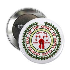 """Office of Santa Gifts 2.25"""" Button (10 pack)"""