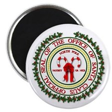 Office of Santa Gifts Magnet