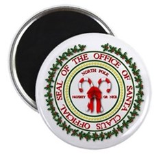 "Office of Santa Gifts 2.25"" Magnet (10 pack)"