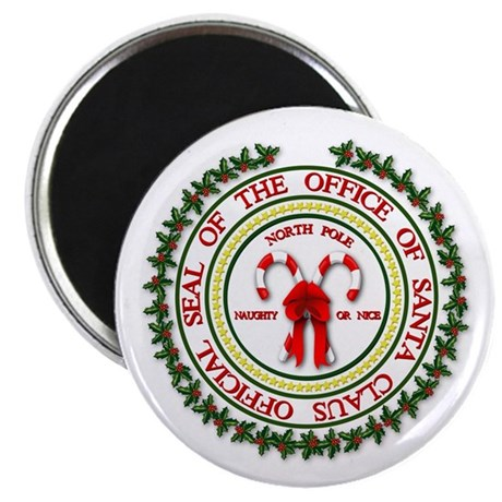 """Office of Santa Gifts 2.25"""" Magnet (10 pack)"""