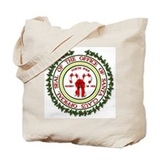Office of Santa Gifts Tote Bag