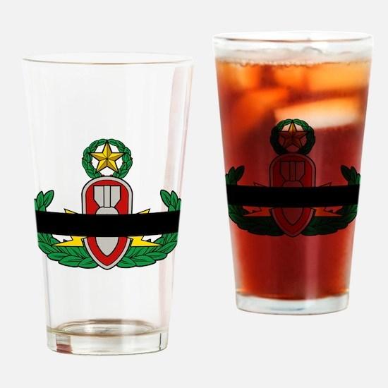 EOD In Memoriam Drinking Glass