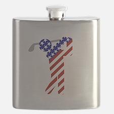 USA Mens Golf Flask