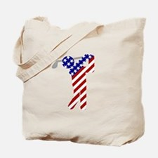 USA Mens Golf Tote Bag
