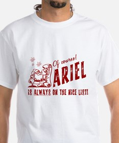 Nice List Ariel Christmas Shirt