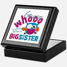 Big Sister - Owl Keepsake Box