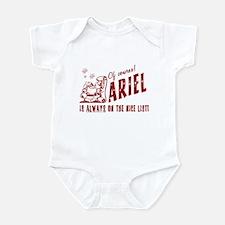 Nice List Ariel Christmas Infant Bodysuit
