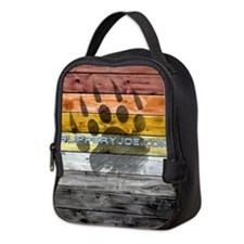 Bear Wood_9 Neoprene Lunch Bag