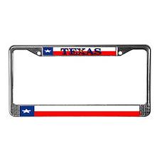 Texas Lone Star State Flag License Plate Frame