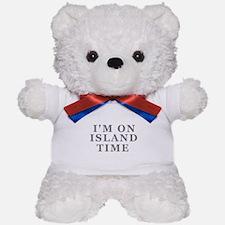 Im On Island Time Teddy Bear