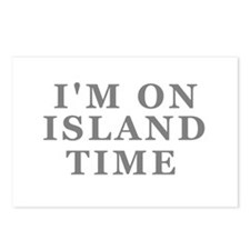 Im On Island Time Postcards (Package of 8)