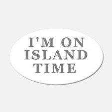 Im On Island Time Wall Decal