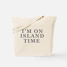 Im On Island Time Tote Bag